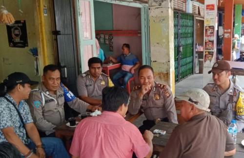 Kapolsek Nanga Pinoh Kota Gelar Coffee Morning Bersama Awak Media